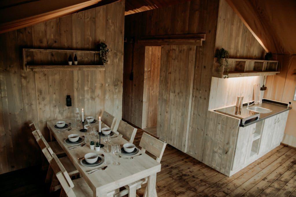 Safari tent Wood Lodge XL
