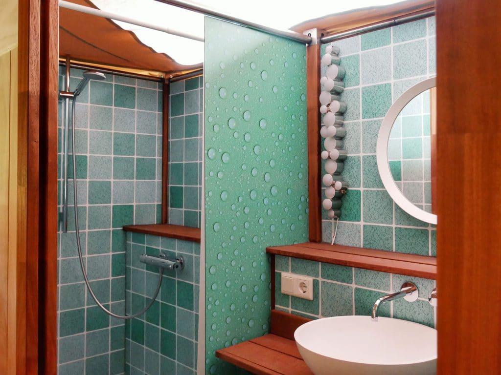 Dormer Cabin badkamer
