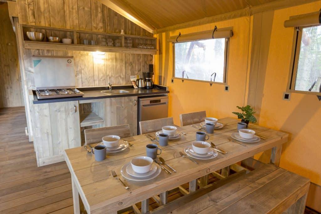 Keuken Safari Lodge XL