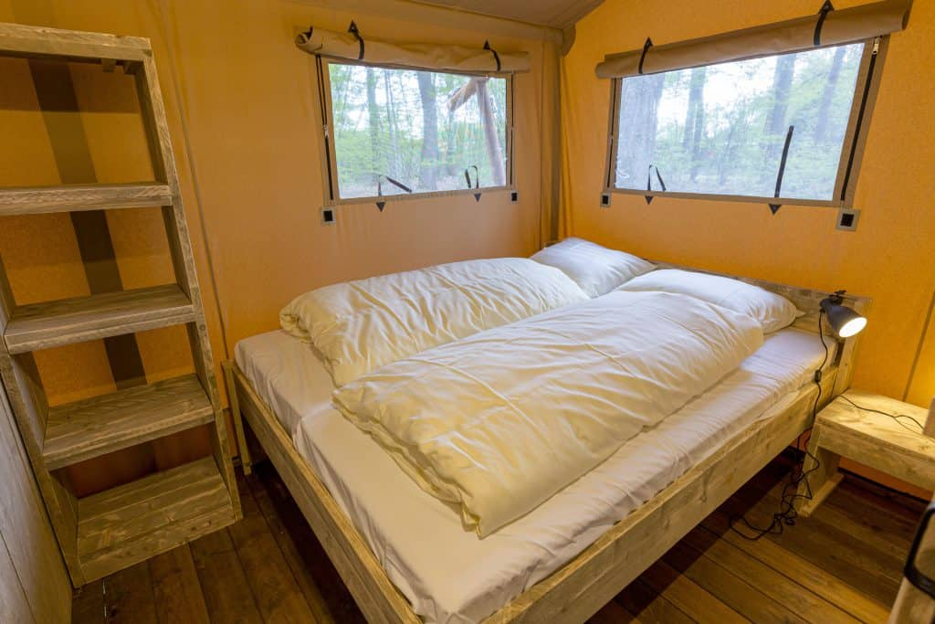Luxe bedden Glamping
